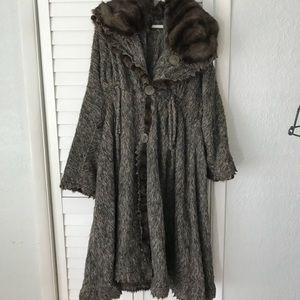 FENDI Fur full coat!